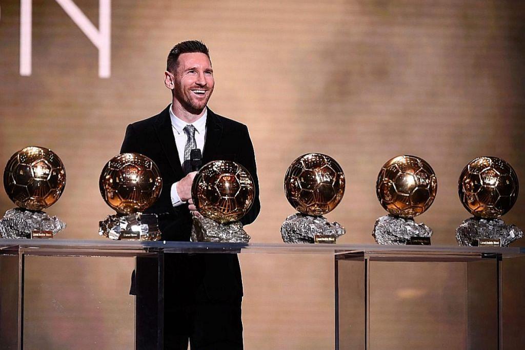 Messi menang anugerah Ballon d'Or buat kali ke-6