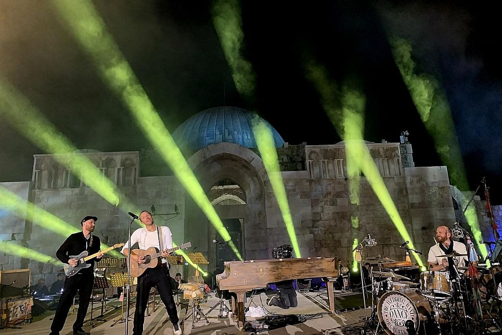 Kumpulan rok British, Coldplay. - Foto EPA-EFE