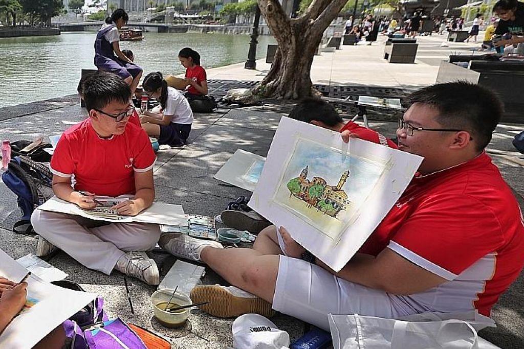 Syabas pelajar! Tapi masih ada ruang pertingkat sistem pendidikan S'pura Rakaman baru 'Majulah Singapura' tarik perhatian Singa Muda mengecewakan tapi lebih penting ialah cari 'huraiannya'