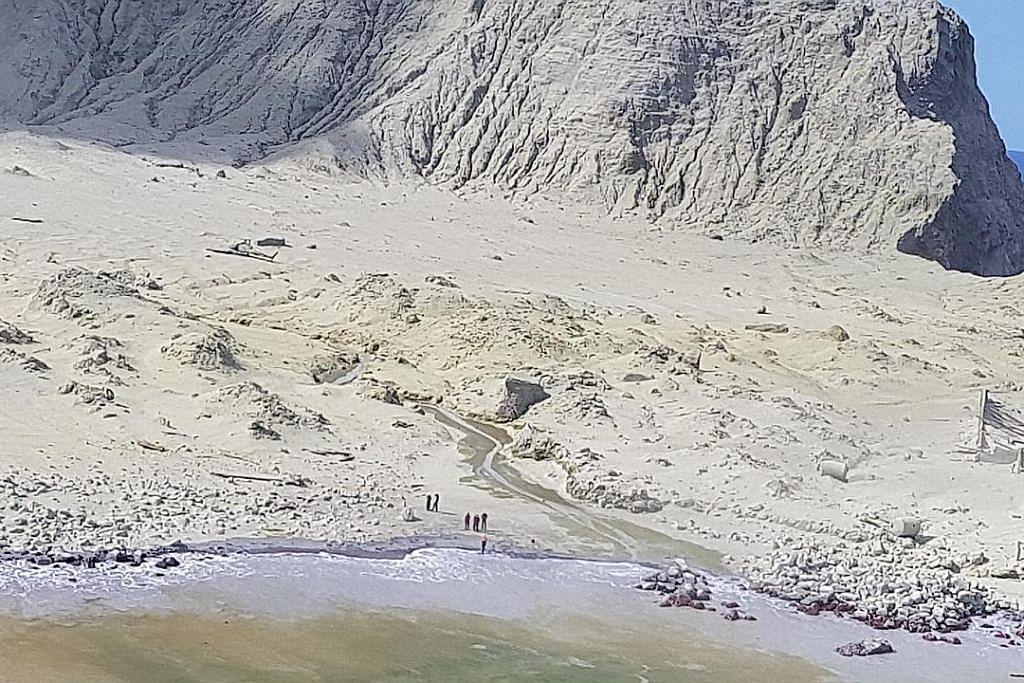 Letusan gunung berapi NZ: 8 masih hilang, polis lancar siasatan jenayah