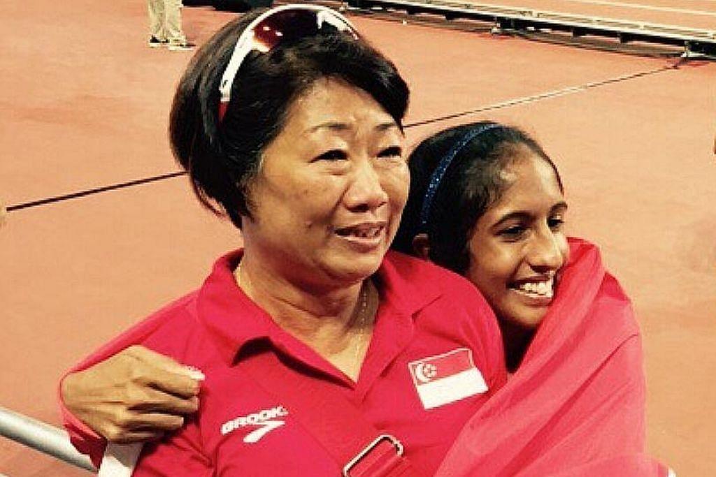 Skuad balapan S'pura terkejut jurulatih Shanti letak jawatan
