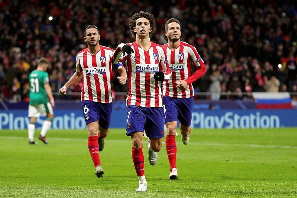 Atletico Madrid mara; Spurs kalah tapi layak ke pusingan 16