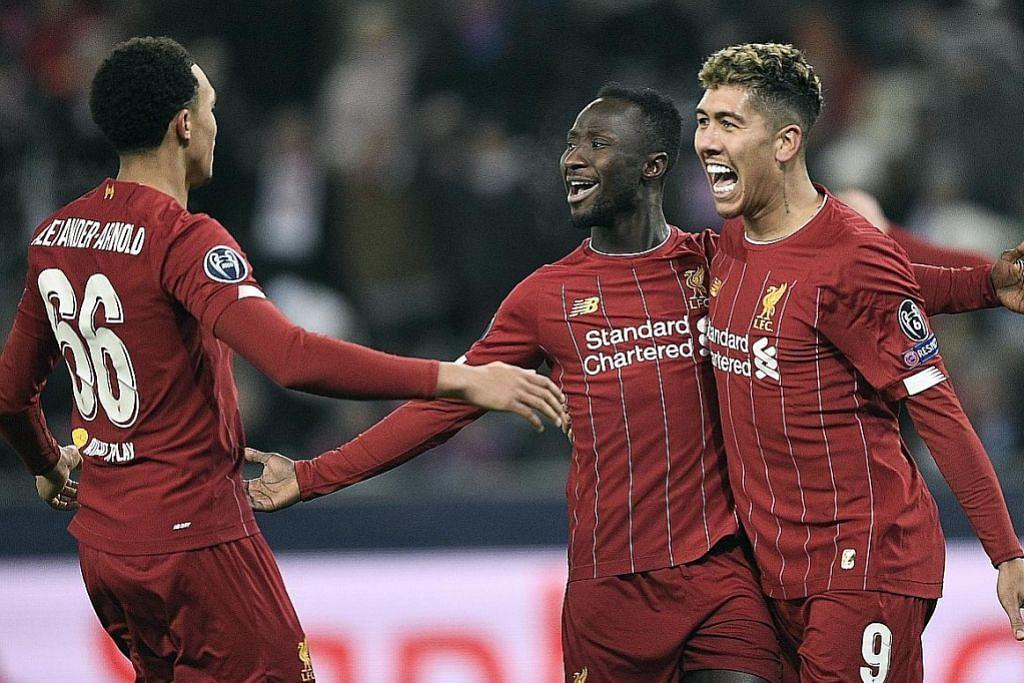 Liverpool dijangka perkukuh kedudukan