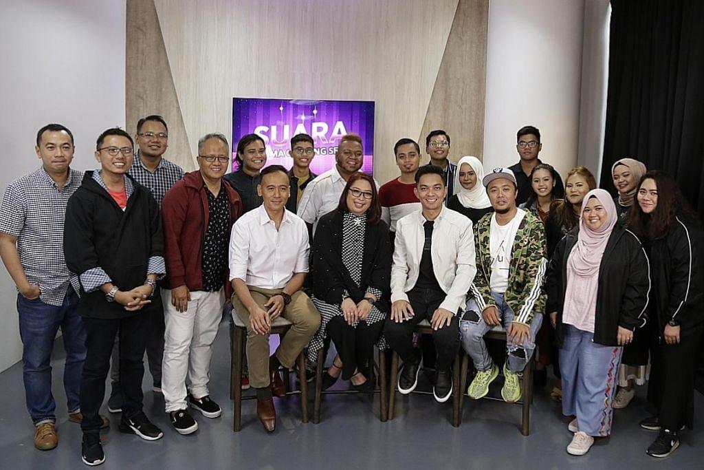 PERTANDINGAN 'SUARA WISMA GEYLANG SERAI' Cungkil bakat nyanyi melalui media sosial