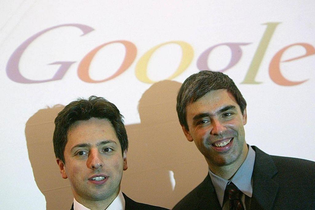 Pengasas Google berundur daripada jawatan tertinggi syarikat