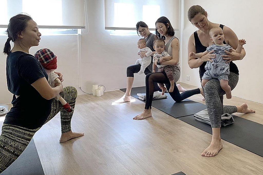 Yoga satu lagi pilihan pulihkan 'ibu dalam pantang'