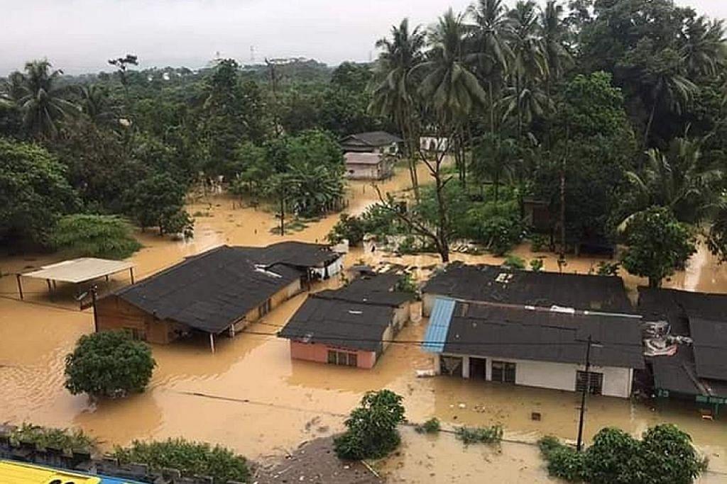 Lebih 9,000 penduduk Johor dipindah ekoran banjir