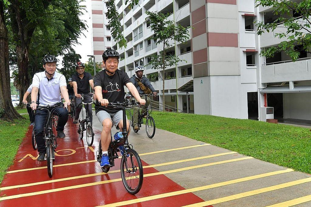 Tambah laluan basikal mungkin dipercepatkan beberapa tahun