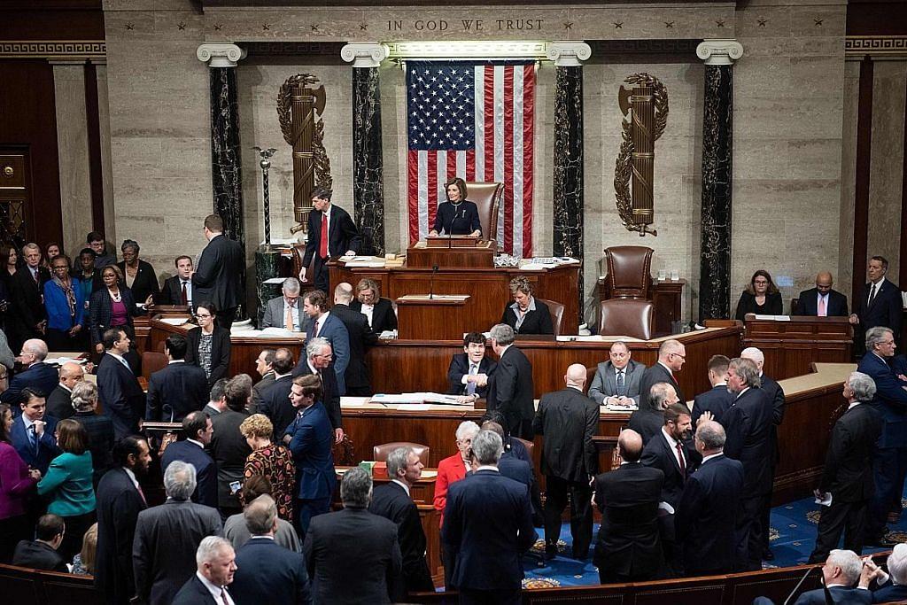 Dewan Perwakilan AS lulus dakwaan rasmi salah guna kuasa oleh Trump