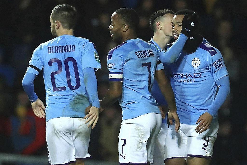 PIALA LIGA City bakal berentap dengan United; Leicester lawan Villa
