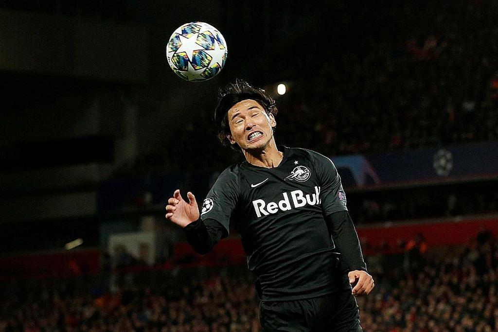 TAKUMI MINAMINO Pemain Jepun Minamino sah sertai Liverpool