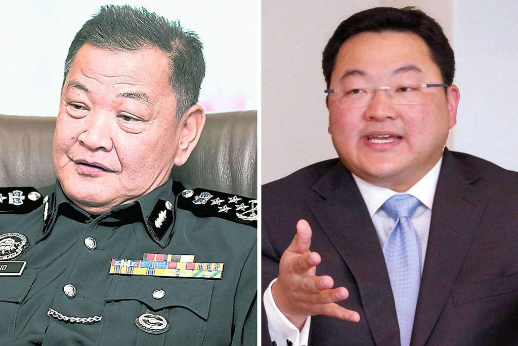 Usaha bawa balik Jho Low amat sukar: Ketua Polis M'sia