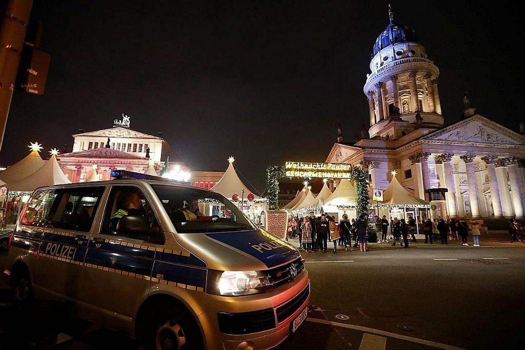 Polis pertingkat kehadiran, rondaan bagi Kira Detik 2020 Marina Bay