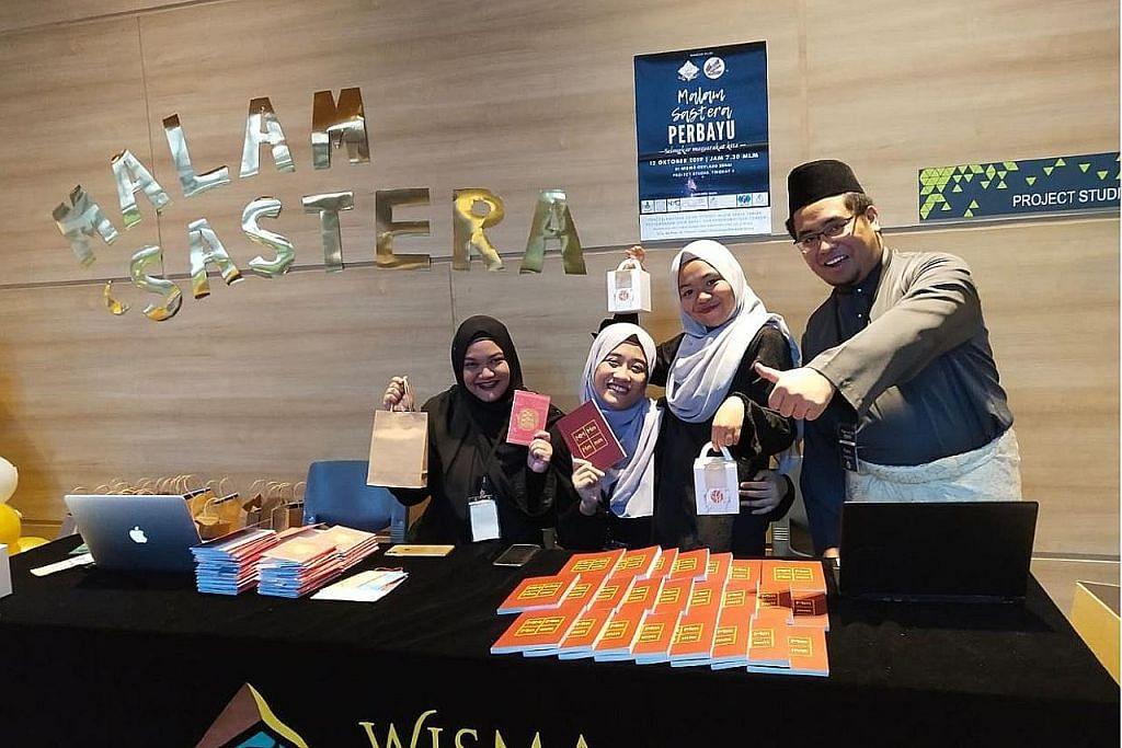 Buku karya siswa galak teman peka tentang Melayu dilancar