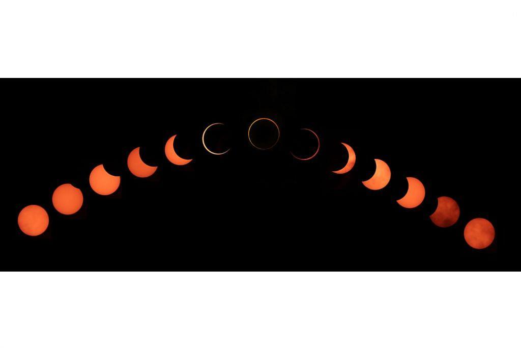 Laporan gerhana matahari cincin tarik perhatian pembaca