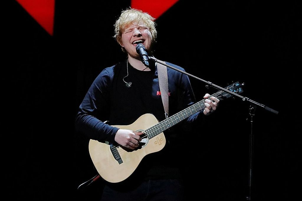 Ed Sheeran akan berada di SG lagi - melancong