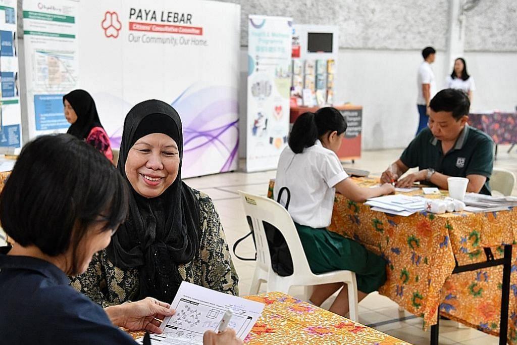 Program jaga kesihatan bagi penduduk Paya Lebar