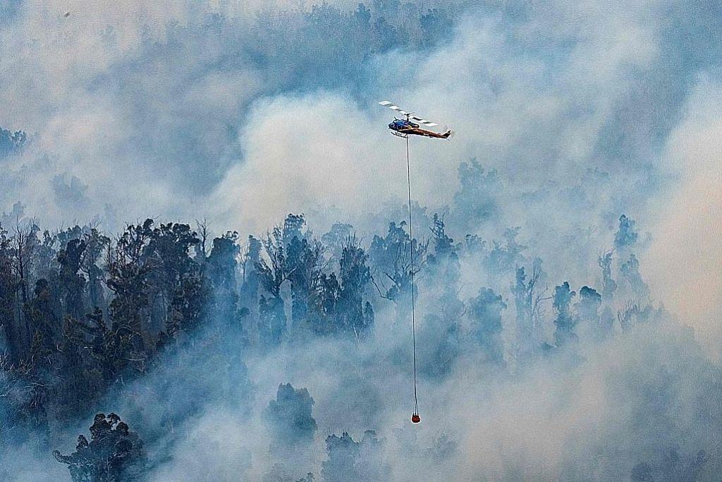 Pelancong, bomba diarah keluar dari kawasan terjejas KEBAKARAN DI AUSTRALIA