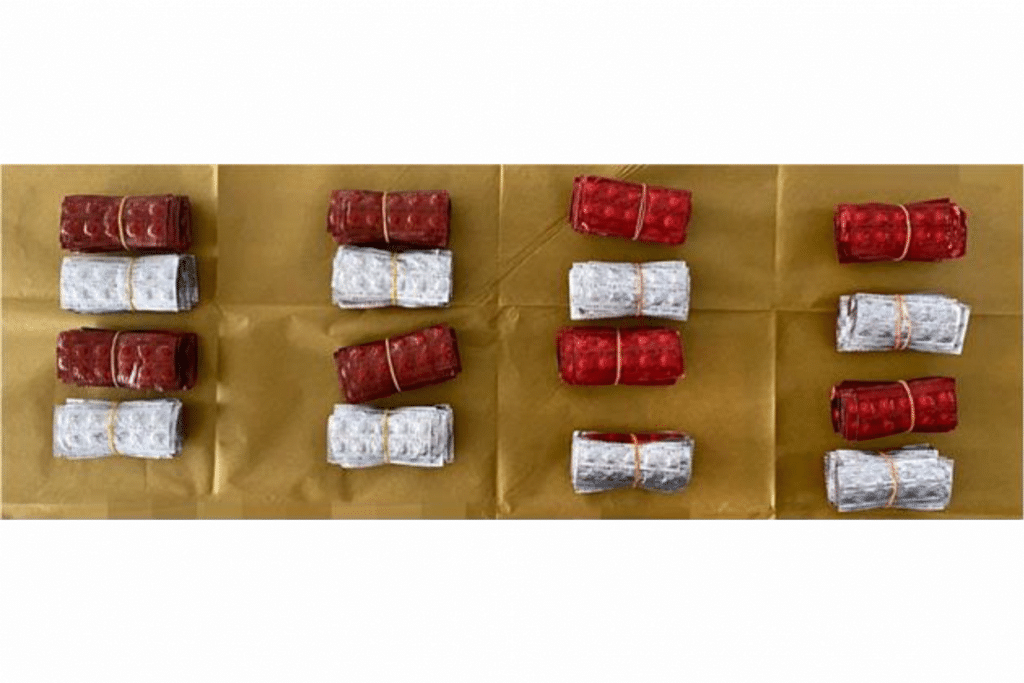$1.1 million worth of drugs seized from two suspected drug traffickers