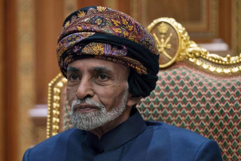 Sultan Qaboos bin Said. FOTO: AP