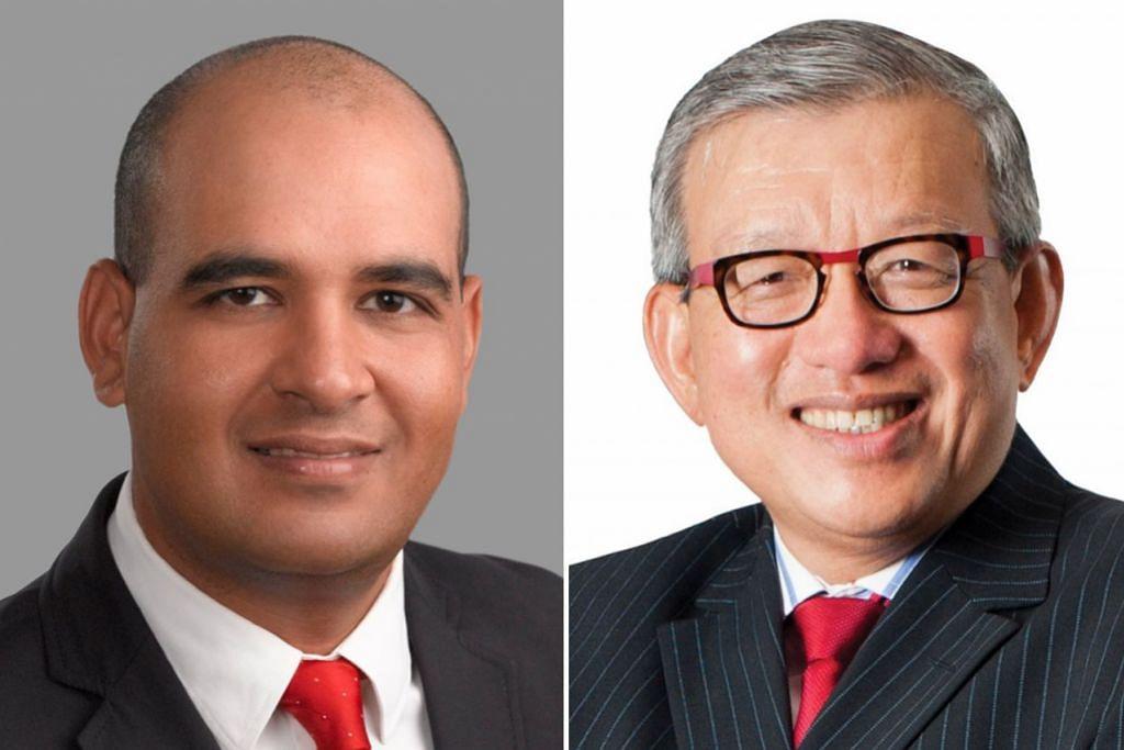 (Kiri) Encik Samir Bedi dan (kanan) Encik Ho Meng Kit.