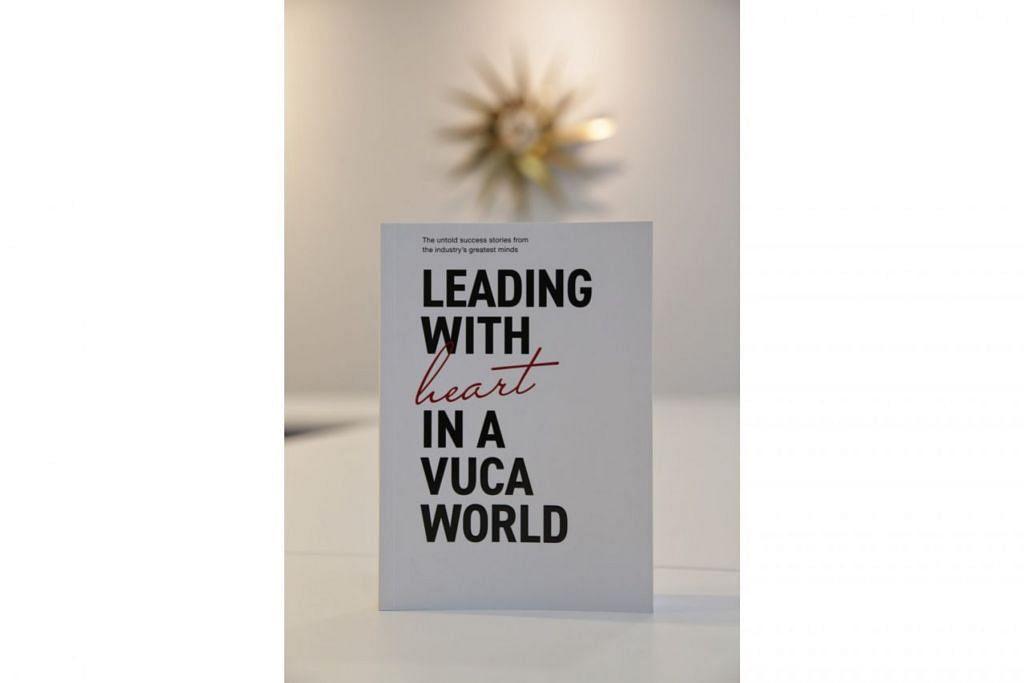PANDUAN BERHARGA: Buku 'Leading With Heart In A VUCA World' memaparkan perjalanan dan pengalaman pemimpin.