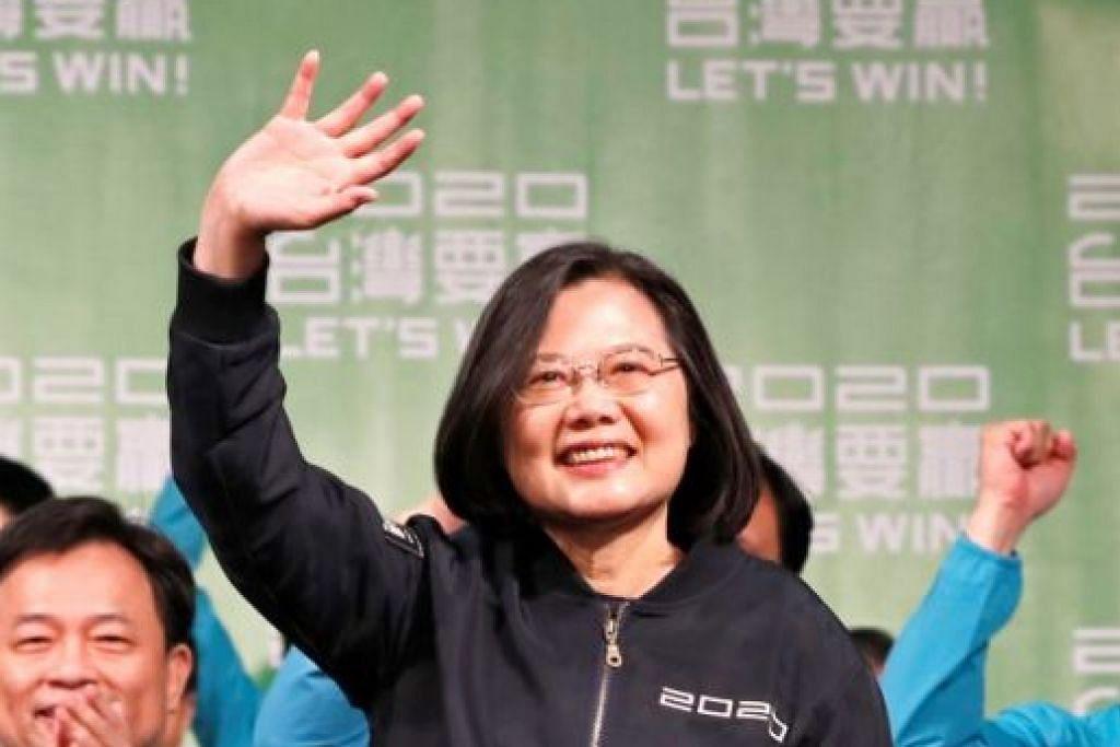Presiden Tsai Ing-wen -Foto REUTERS