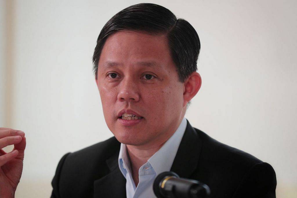 Menteri Perdagangan dan Perusahaan, Encik Chan Chun Sing.