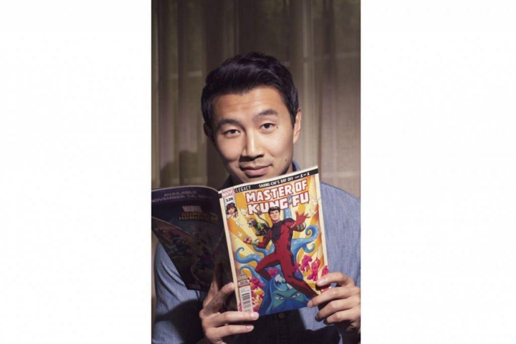 DARIPADA AKAUNTAN KEPADA ADIWIRA: Simu Liu merupakan akauntan dari China yang diberhentikan kerja sebelum meraih rezeki sebagai pelakon filem terkini Marvel 'Shang-Chi and the Legend of the Ten Rings'. - Foto INSTAGRAM SIMU LIU