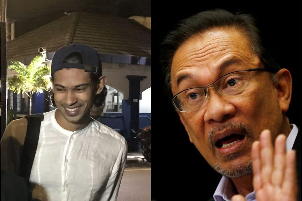 TUDUHAN TIDAK CUKUP BUKTI: Encik Yusoff (kiri) tahun lalu melemparkan tuduhan gangguan seksual terhadap Datuk Anwar Ibrahim. - Foto fail