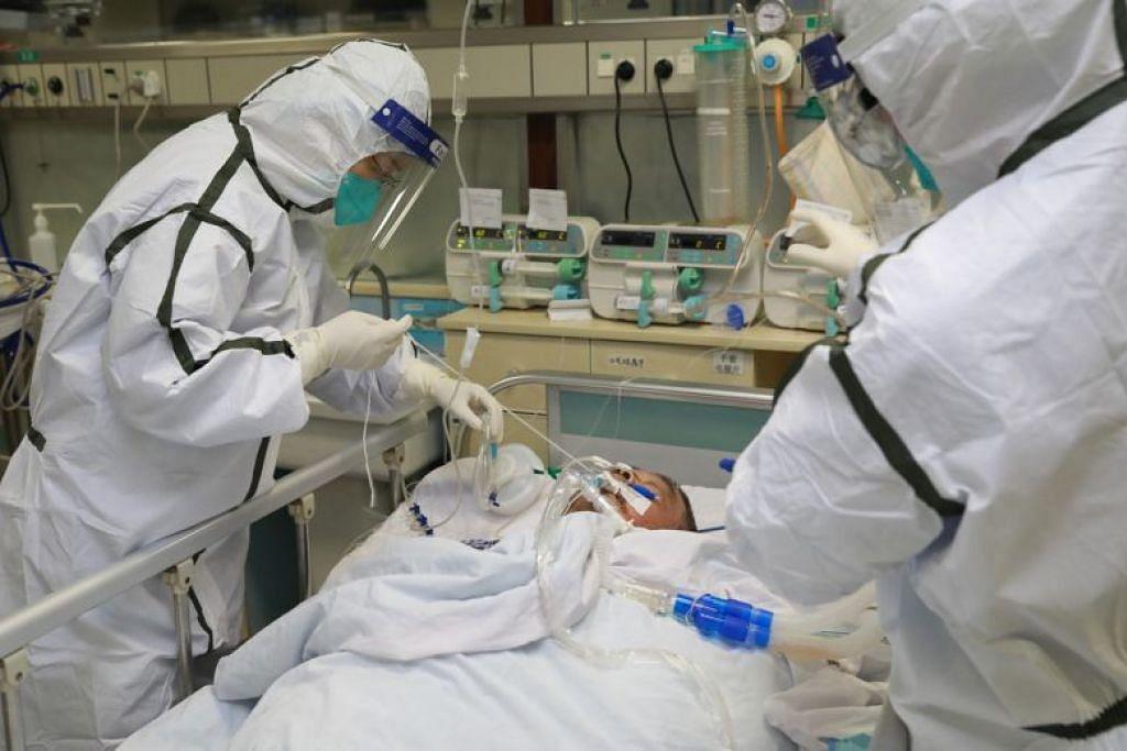 Pesakit virus Wuhan sedang dirawat di hospital di Zhongnan, di  Universiti Wuhan.