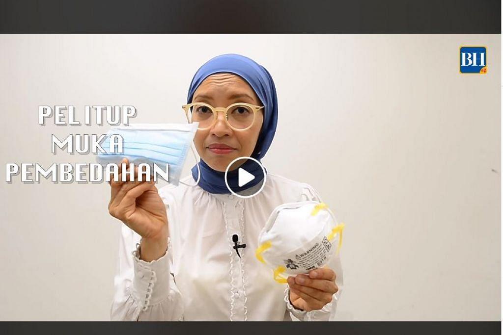 Dalam satu Dr Elly Sabrina berkongsi tips serta cara menggunakan pelitup muka dengan betul agar warga Singapura dilindungi dengan berkesan.