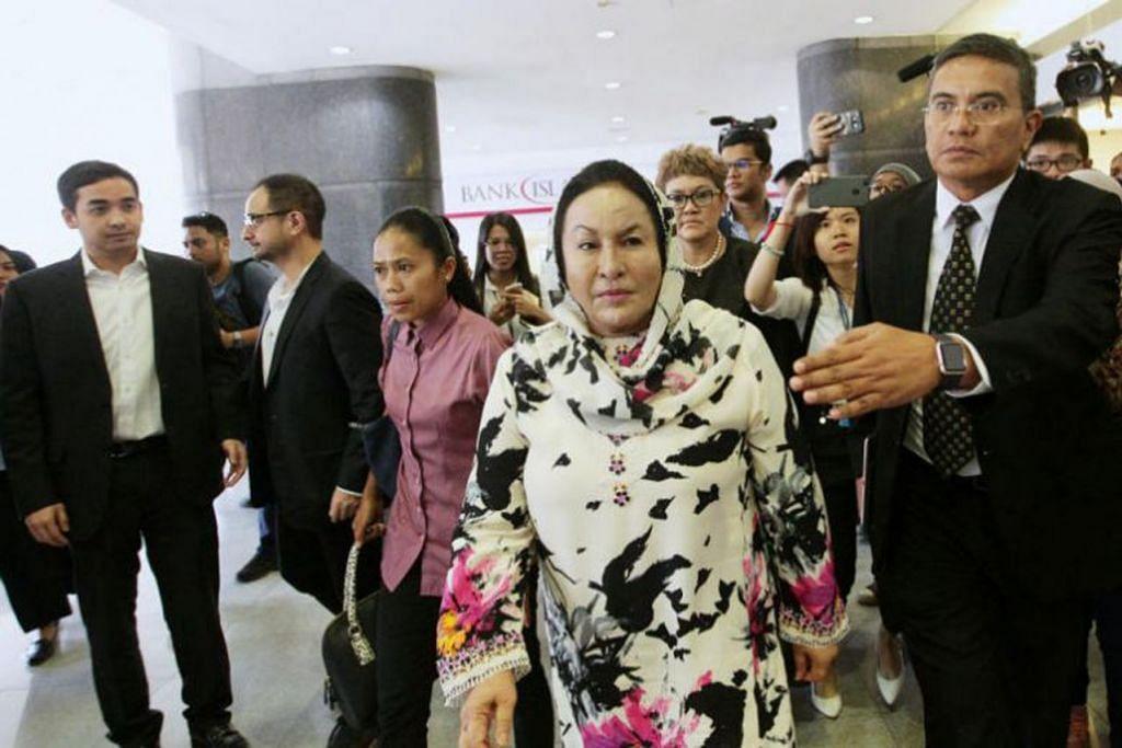 Peguam Rosmah Mansor, Encik Jagjit Singh, berkata kliennya tidak dapat hadir di mahkamah kerana mengalami sakit tengkuk berulang yang teruk selain mabuk dan osteoartritis pada lutut. Foto THE STAR/ASIA NEWS NETWORK