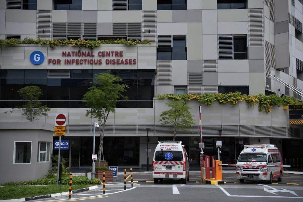 DIRAWAT: Beberapa kes koronavirus kini dirawat di NCID di Hospital Tan Tock Seng. FOTO FAIL