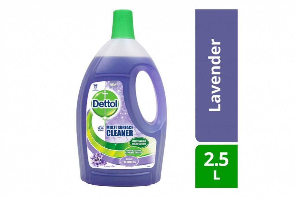 Pembersih permukaan 4 dalam 1 Dettol - Lavender.