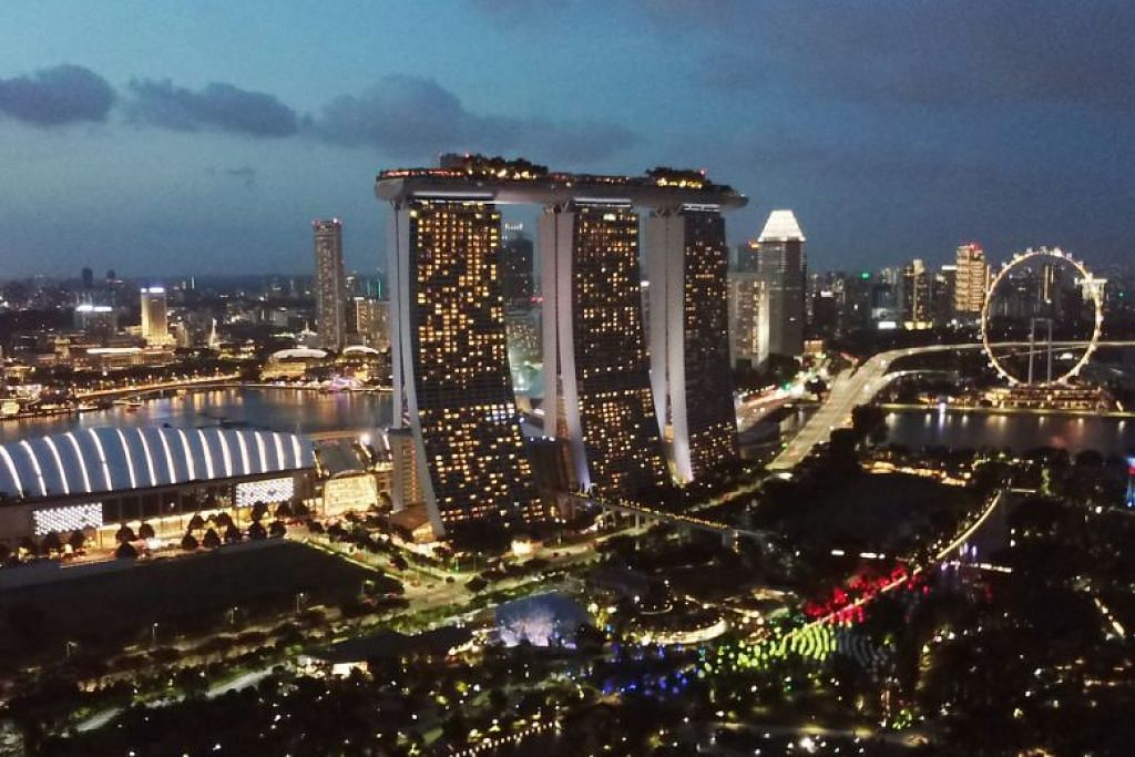 Singapura menduduki tangga teratas bagi bandar paling selesa bagi golongan ekspatriat Asia. FOTO: LIM YAOHUI