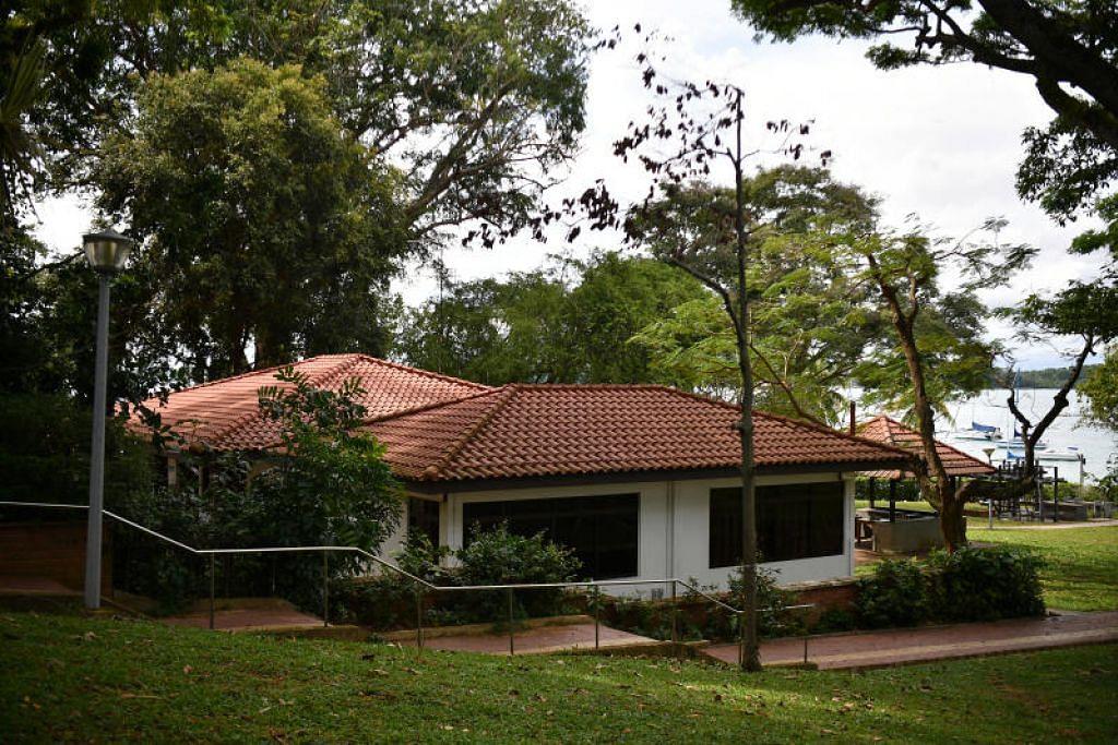 KUARANTIN: Sebuah kemudahan kuarantin pemerintah disediakan di Kelab Perkhidmatan Awam di Changi.