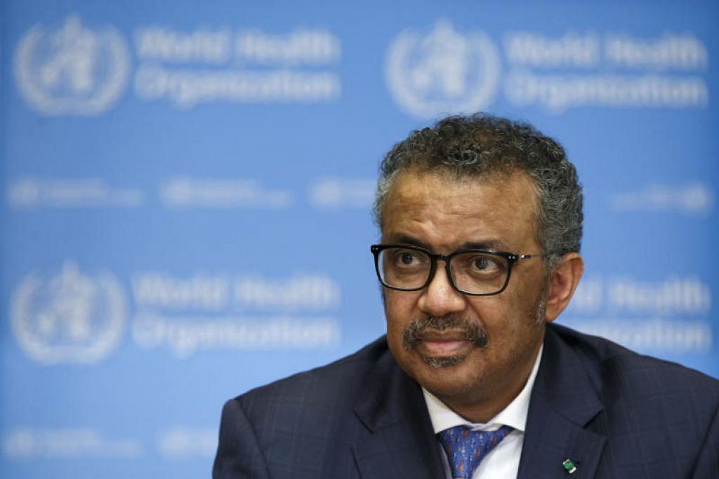 Ketua WHO Tedros Adhanom Ghebreyesus kagum dengan usaha Singapura menangani wabak koronavirus.