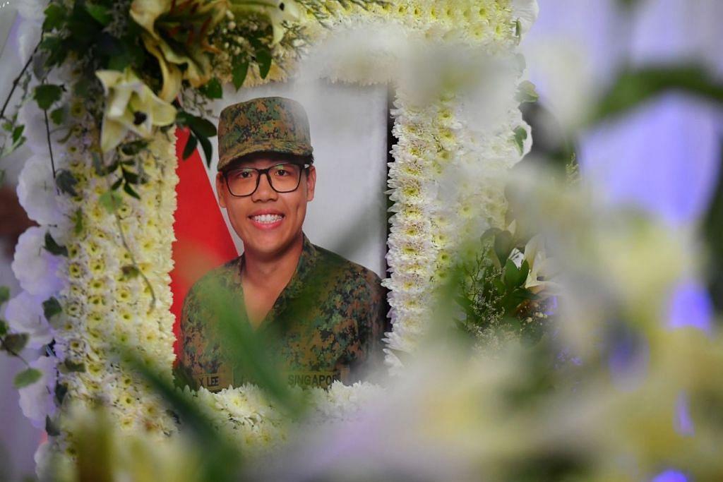 CFC Dave Lee Han Xuan meninggal dunia pada 30 April 2018, hampir dua minggu setelah dirawat di hospital ekoran strok haba sewaktu menjalani perkhidmatan negara. Foto: Fail.