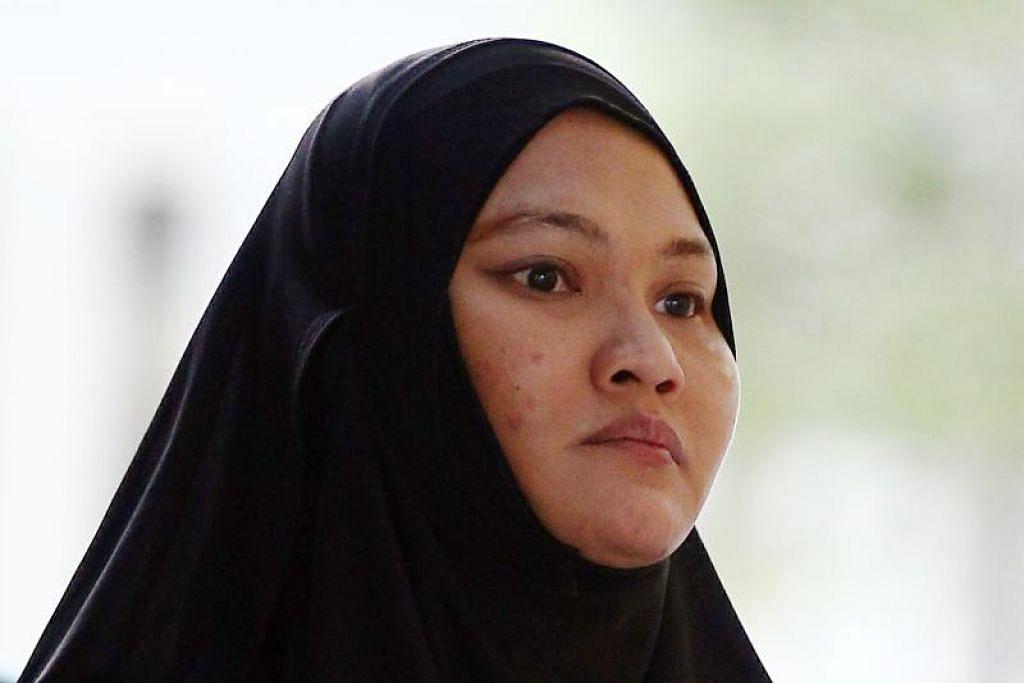 Sa'adiah Jamari dituduh memberi ubat-ubatan yang mungkin berbahaya kepada dua bayi perempuan di bawah jagaannya. - Foto fail