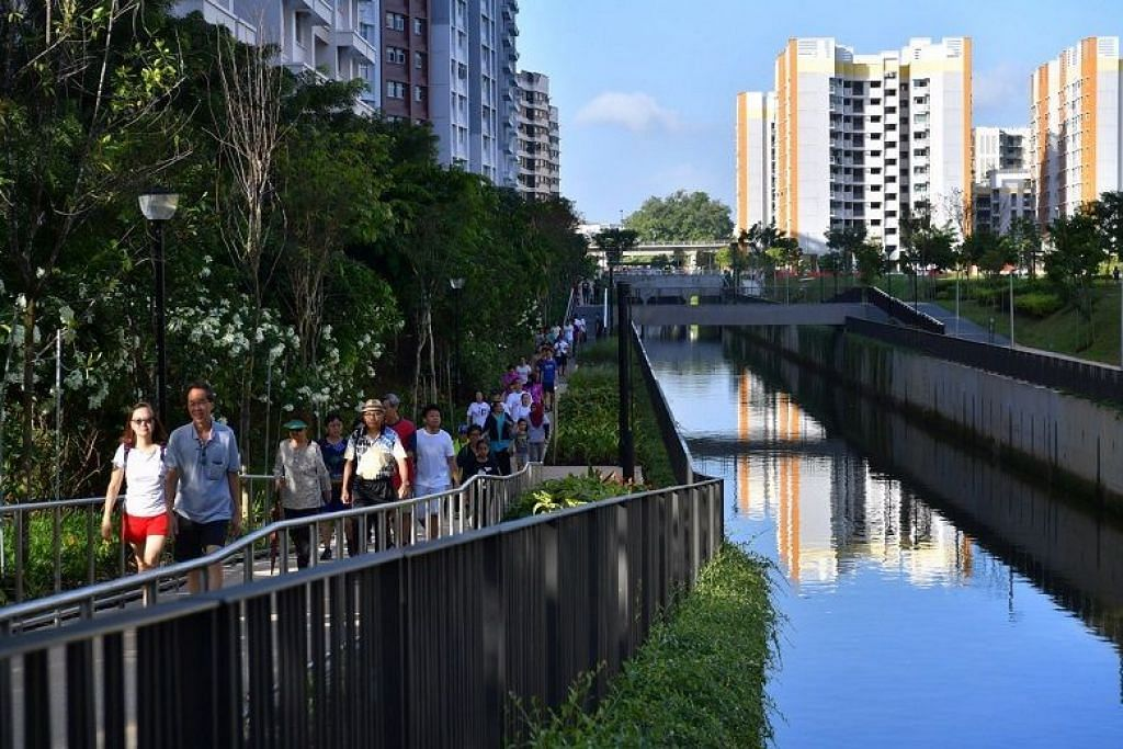Sembawang canal gets a facelift