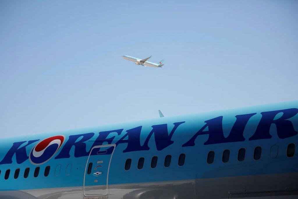 TUTUP PEJABAT: Korean Air menutup pejabatnya dekat Lapangan Terbang Antarabangsa Incheon di mana terletaknya bilik taklimat anak kapal.