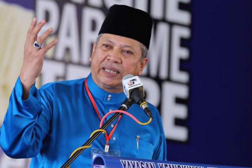 Tan Sri Annuar berkata beberapa pihak telah cuba memecah belahkan Umno. Foto: FACEBOOK/TAN SRI ANNUAR MUSA