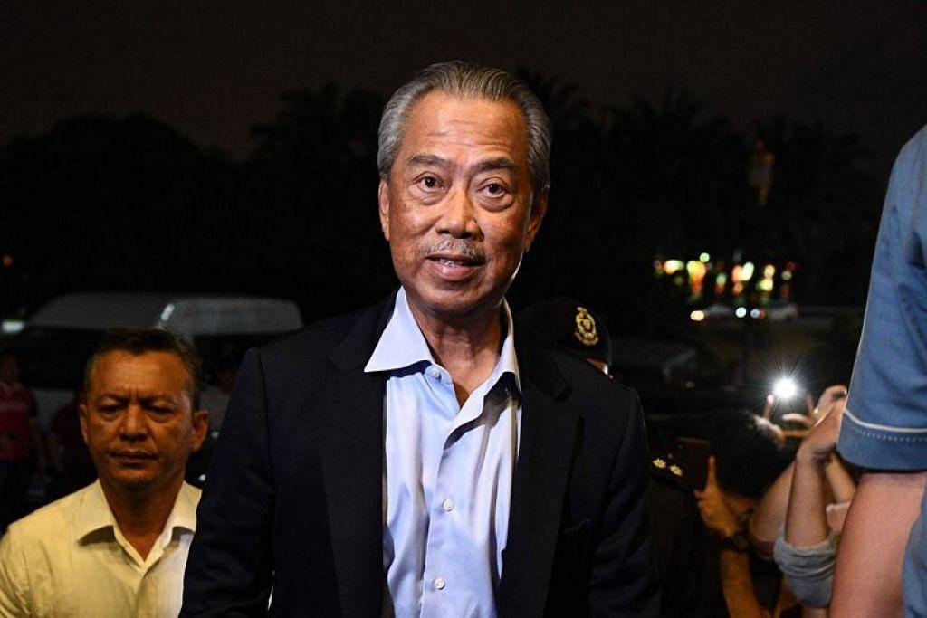 Tan Sri Muhyiddin Yassin, bakal mengangkat sumpah sebagai Perdana Menteri baru Malaysia, esok.