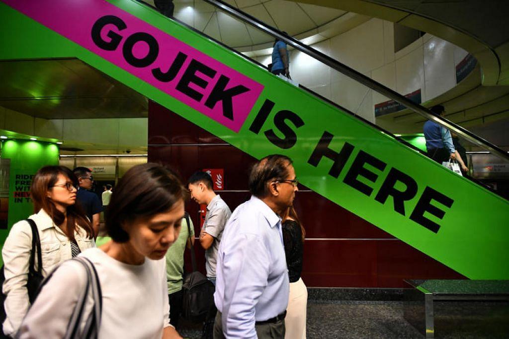 Gojek akan memperkenal bayaran tambahan 70 sen bagi perjalanan yang ditempah menerusi wadah aplikasinya. FOTO: LIM YAOHUI