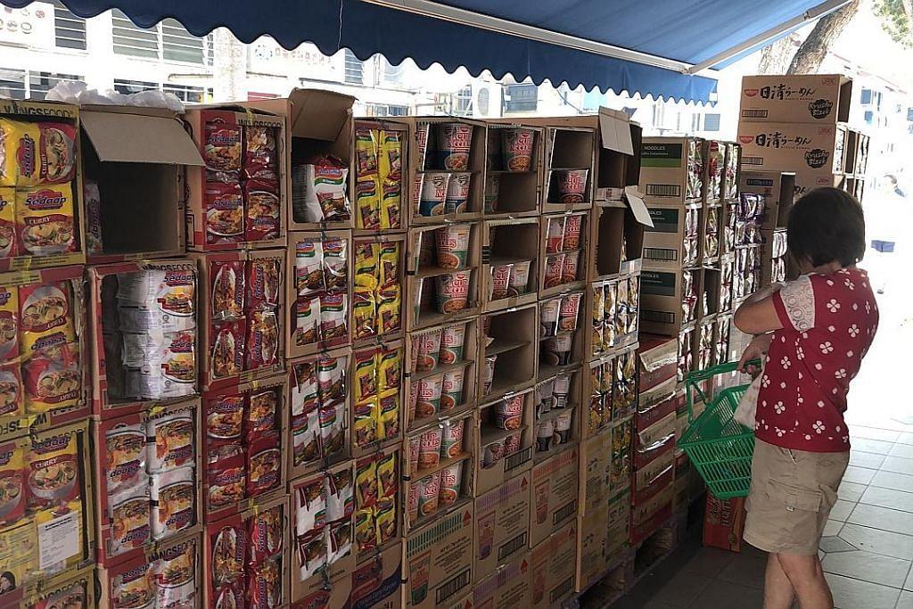 FairPrice hadkan pembelian produk kertas, beras, sayur dan mi segera