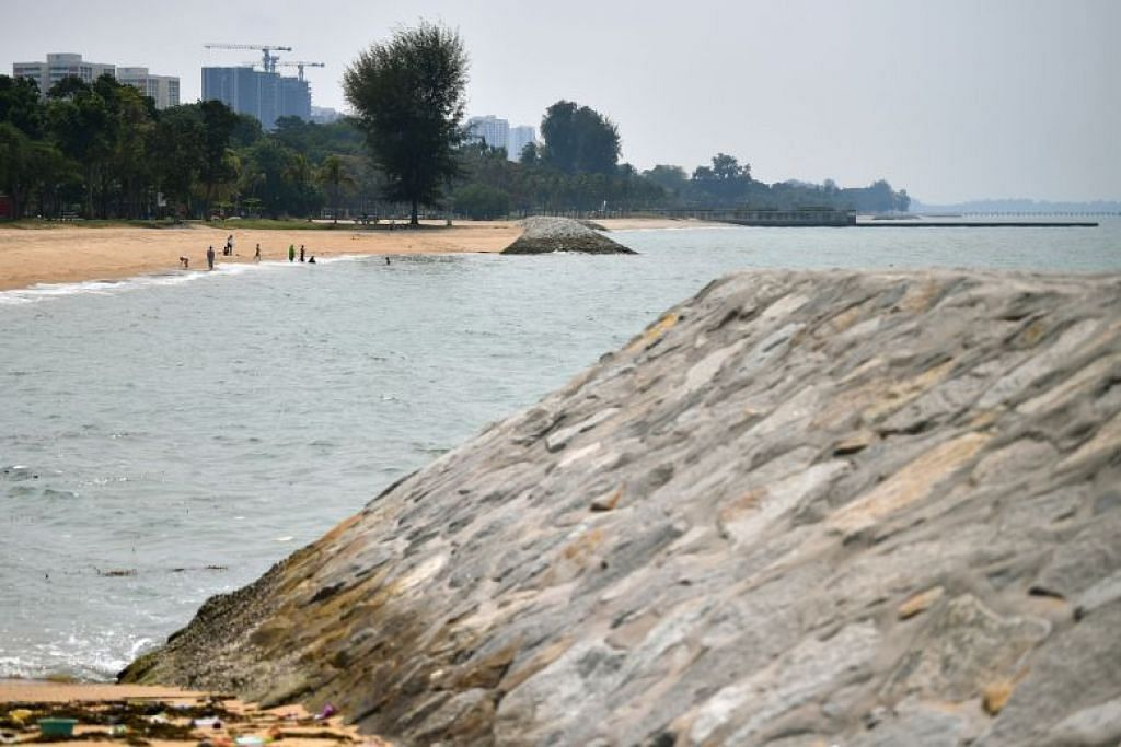 LINDUNGI PANTAI: PUB akan mengkaji cara mengatasi ancaman kenaikan paras air laut di kawasan yang mudah terjejas, termasuk di pantai East Coast.