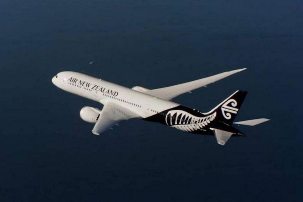 DARI SINGAPURA KE AUCKLAND: Penumpang berkenaan telah mengembara dari Singapura ke Auckland dalam penerbangan NZ283 pada 25 Februari, kemudian dari Auckland ke Palmerston North dalam penerbangan NZ5103 pada 2 Mac, dan kembali ke Auckland pada NZ8114 pada hari yang sama, kata Air New Zealand.