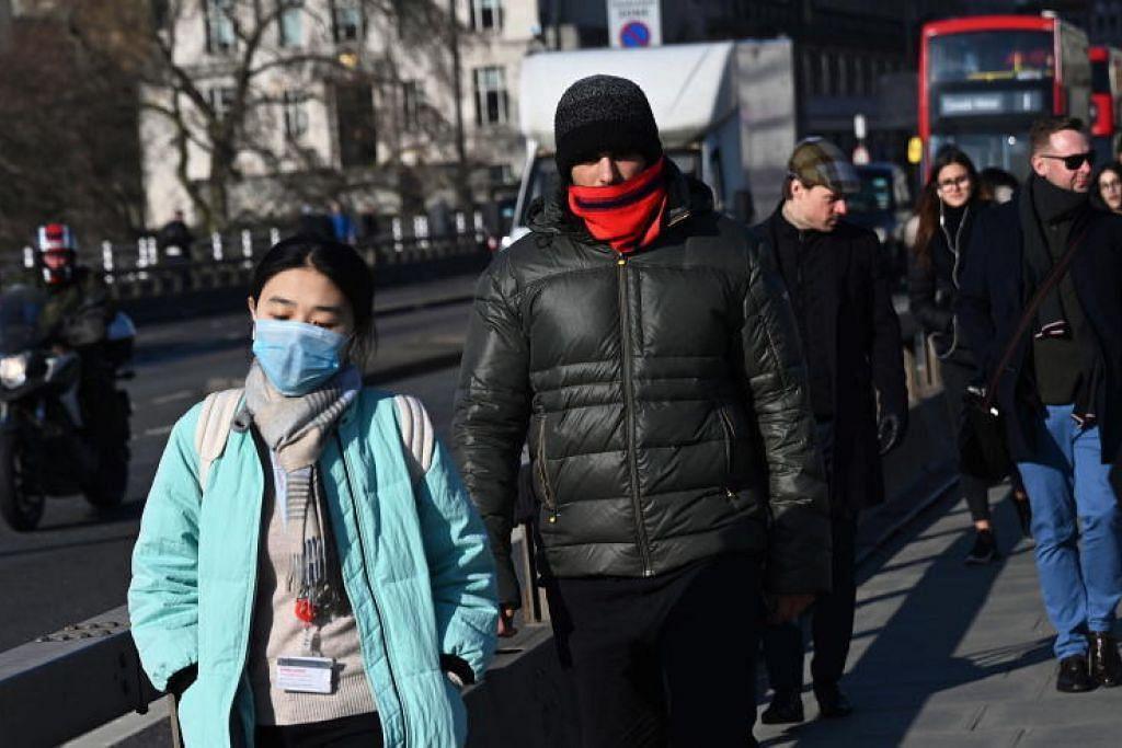 BRITAIN BERWASPADA: Pihak berkuasa Britain kini menggesa sesiapa yang baru tiba di Britain dari China atau beberapa tempat lain termasuk Singapura, Malaysia dan Korea Selatan, untuk mendapatkan bantuan jika mereka sakit.