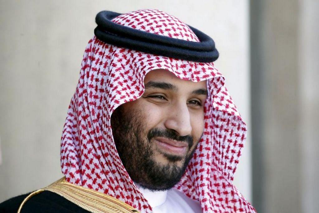 KUKUHKAN KUASA: Putera Mahkota Mohammed bin Salman telah mengukuhkan kuasanya sejak menyingkir sepupunya, Mohammed bin Nayef, sebagai pewaris takhta dalam satu rampasan kuasa istana pada tahun 2017.